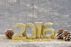 Año Nuevo 2016 Imagenes de archivo