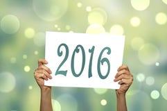 Año Nuevo 2016 Imagen de archivo