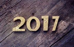 Año Nuevo 2017 Foto de archivo libre de regalías