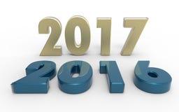Año Nuevo 2017 Imagenes de archivo