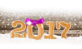 Año Nuevo 2017 Imágenes de archivo libres de regalías