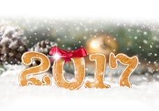 Año Nuevo 2017 Fotos de archivo