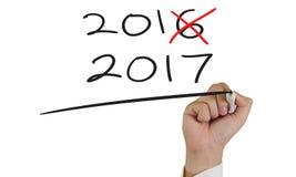 Año Nuevo 2017 Fotos de archivo libres de regalías