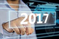 Año Nuevo 2017 Imagen de archivo
