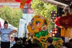 Año Nuevo chino 2018 Imágenes de archivo libres de regalías