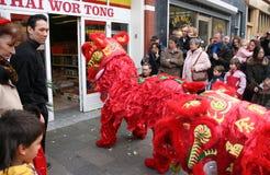 Año Nuevo chino 2007 Fotografía de archivo libre de regalías