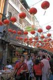 Año Nuevo chino 2012 - Bangkok, Tailandia Imagen de archivo
