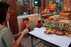 Año Nuevo chino 2012 - Bangkok, Tailandia Fotografía de archivo