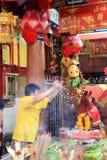 Año Nuevo chino 2012 - Bangkok, Tailandia Imagen de archivo libre de regalías
