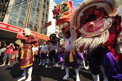 Año Nuevo chino Bangkok Imágenes de archivo libres de regalías