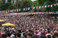 Año Nuevo chino, Buenos Aires, la Argentina Foto de archivo