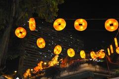 Año Nuevo chino con las decoraciones caballo-temáticas Imagen de archivo libre de regalías