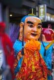 Año Nuevo chino, creencias populares en Taiwán, el desfile del templo del festival de linterna, dios enorme incluso, Imágenes de archivo libres de regalías