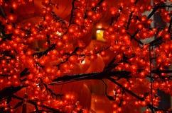 Año Nuevo chino de la linterna roja Imagen de archivo libre de regalías
