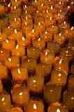 Año Nuevo chino de la religión de la vela Fotos de archivo