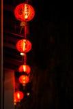 Año Nuevo chino de las linternas chinas Imagenes de archivo