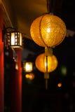 Año Nuevo chino de las linternas chinas Fotografía de archivo libre de regalías