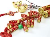 Año Nuevo chino decorativo Imagen de archivo libre de regalías