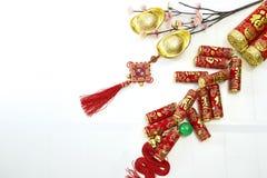 Año Nuevo chino decorativo Fotografía de archivo libre de regalías
