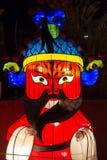 Año Nuevo chino del Año Nuevo de chino del festival de linterna de la ópera de Pekín Foto de archivo libre de regalías
