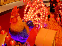 Año Nuevo chino del gallo Fotos de archivo libres de regalías