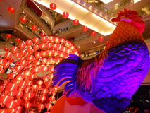 Año Nuevo chino del gallo Imagen de archivo libre de regalías