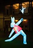Año Nuevo chino - el conejo Fotos de archivo