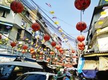 Año Nuevo chino 2015 en Bangkok Foto de archivo libre de regalías