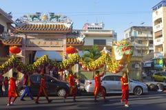 Año Nuevo chino en Hat Yai Imagen de archivo libre de regalías