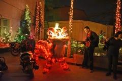 Año Nuevo chino en Kolkata Fotos de archivo