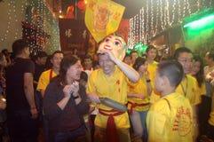 Año Nuevo chino en la India Imágenes de archivo libres de regalías