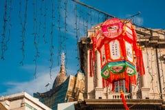Año Nuevo chino en Macao China Imagen de archivo libre de regalías