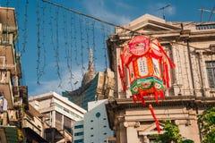 Año Nuevo chino en Macao China Fotografía de archivo