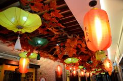Año Nuevo chino en Shangai Imagenes de archivo