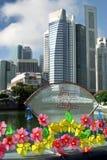 Año Nuevo chino en Singapur Foto de archivo libre de regalías
