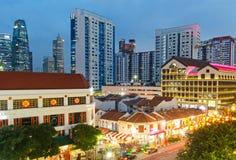 Año Nuevo chino en Singapur Foto de archivo