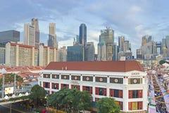 Año Nuevo chino en Singapur Imagenes de archivo
