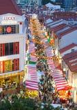 Año Nuevo chino en Singapur Fotos de archivo
