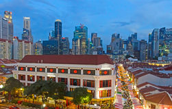 Año Nuevo chino en Singapur Imagen de archivo libre de regalías