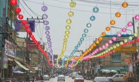 Año Nuevo chino en Tailandia Fotografía de archivo libre de regalías