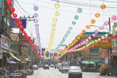Año Nuevo chino en Tailandia Imagen de archivo