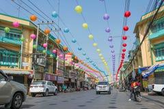 Año Nuevo chino en Tailandia Imagenes de archivo