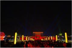 Año Nuevo chino 2018 en Xian Imagenes de archivo