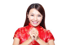 Año Nuevo chino feliz Imagen de archivo libre de regalías