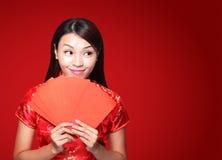 Año Nuevo chino feliz Imagenes de archivo