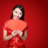 Año Nuevo chino feliz Imágenes de archivo libres de regalías