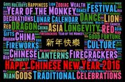 Año Nuevo chino feliz 2016