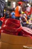 Año Nuevo chino, festival de linterna, aduanas populares de Taiwán, bendiciendo ceremonia y desfile Fotos de archivo