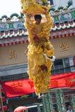 Año Nuevo chino, la danza de león Foto de archivo
