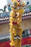 Año Nuevo chino, la danza de león Foto de archivo libre de regalías